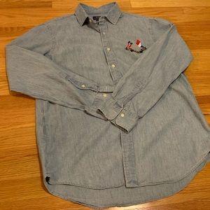 Ralph Lauren Polo Cross Flags Limited Rare Shirt
